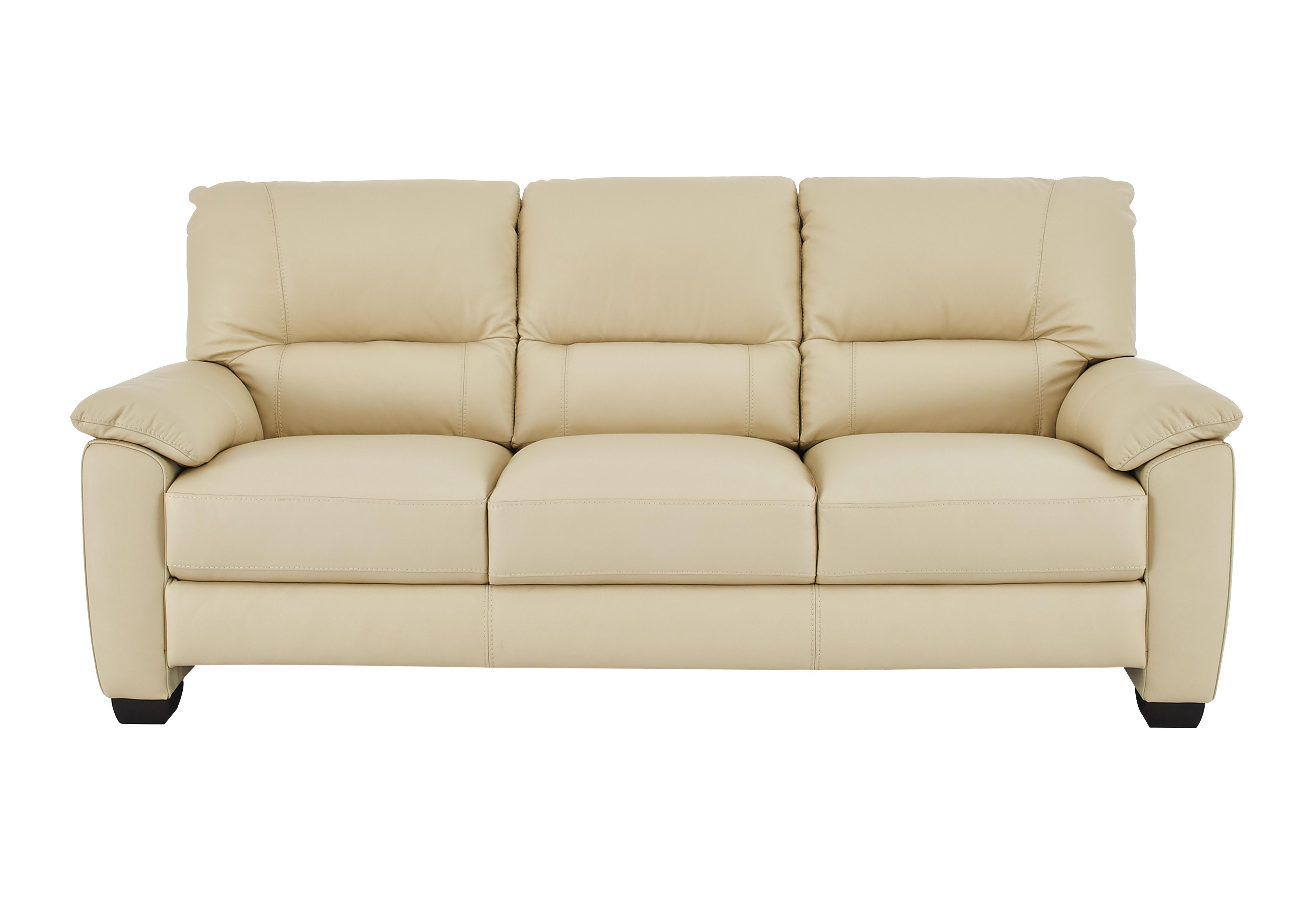 Elegant Apollo 3 Seater Leather Sofa. Loading Images