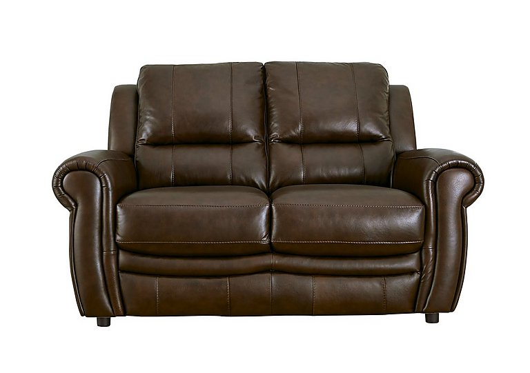Arizona 2 Seater Leather Recliner Sofa in Go/S 182e Sequoia on FV