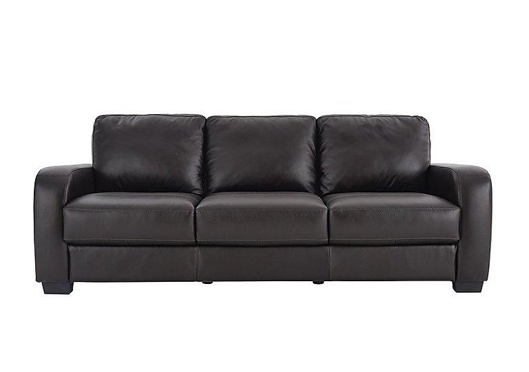 Astor 3 Seater Leather Sofa