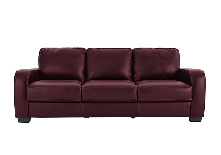 Astor 3 seater leather sofa for 895 home garden for Leather sofa deals
