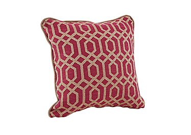 Bancroft scatter cushions in Neron Pink - Accent on Furniture Village