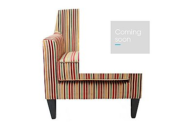 Baxter Fabric Armchair in Candy 069617 Dark Wood on FV