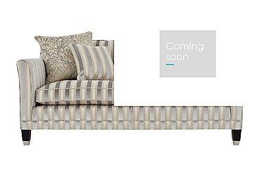 Belgrave 2.5 Seater Fabric Sofa in Fotheringay Stripe Mo Pearl on FV