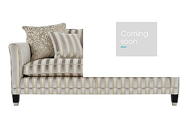 Belgrave 3 Seater Fabric Sofa in Fotheringay Stripe Mo Pearl on FV
