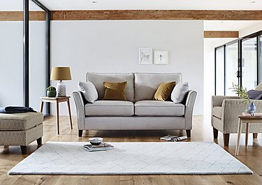 High Street Bond Street 3 Seater Fabric Sofa in  on FV