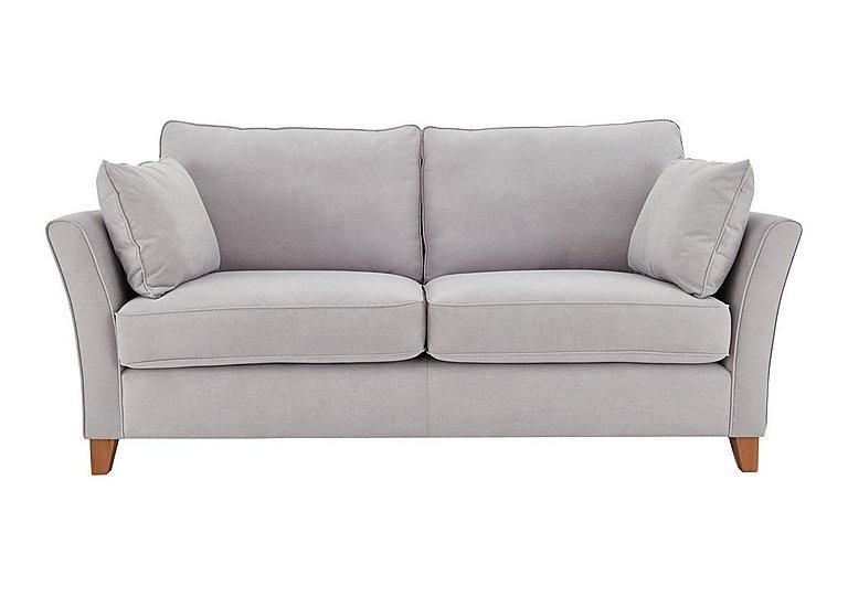 High Street Bond Street 3 Seater Fabric Sofa in Salta  Ash on FV