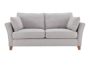 High Street Bond Street 3 Seater Fabric Sofa in Salta  Ash on FV