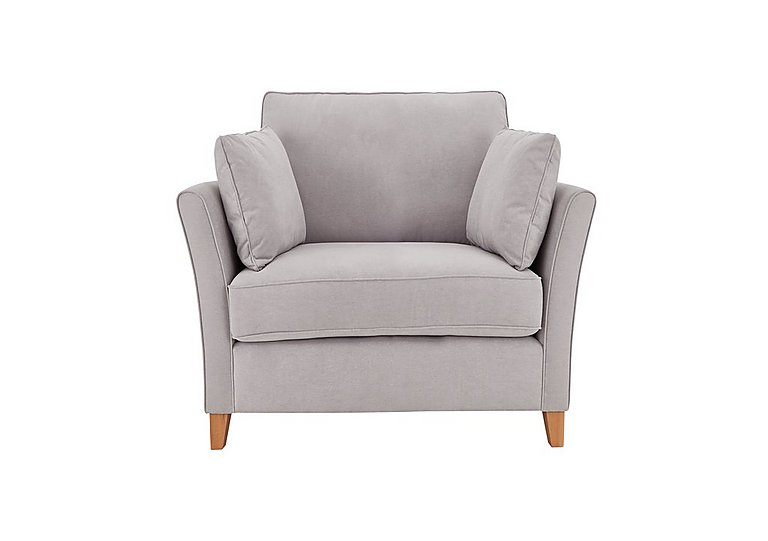 High Street Bond Street Fabric Armchair in Salta  Ash on FV