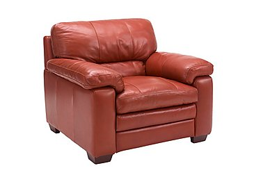 Carolina Leather Armchair