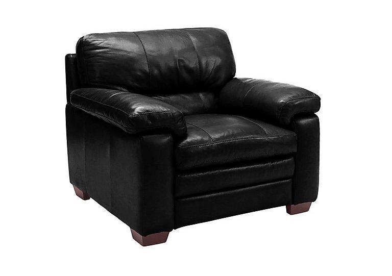 Carolina Leather Armchair