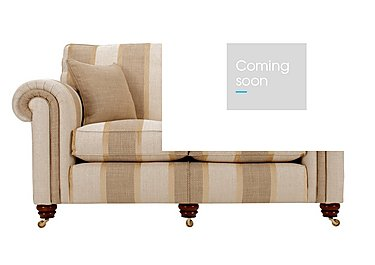 Chelsea Village 3 Seater Fabric Sofa in Tangmere Ermine Linen on FV