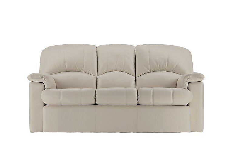 Chloe 3 Seater Small Leather Sofa