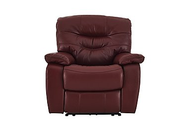 Relax Station Cozy Leather Recliner Armchair