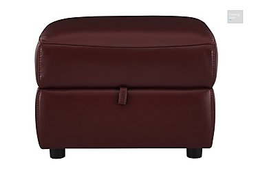 Relax Station Cozy Leather Storage Footstool  in {$variationvalue}  on FV