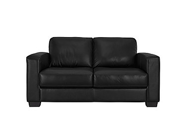 Dante 2 Seater Leather Sofa in Bv-3500 Classic Black on FV