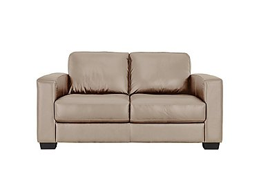 Dante 2 Seater Leather Sofa in Nc-862c Bisque on FV