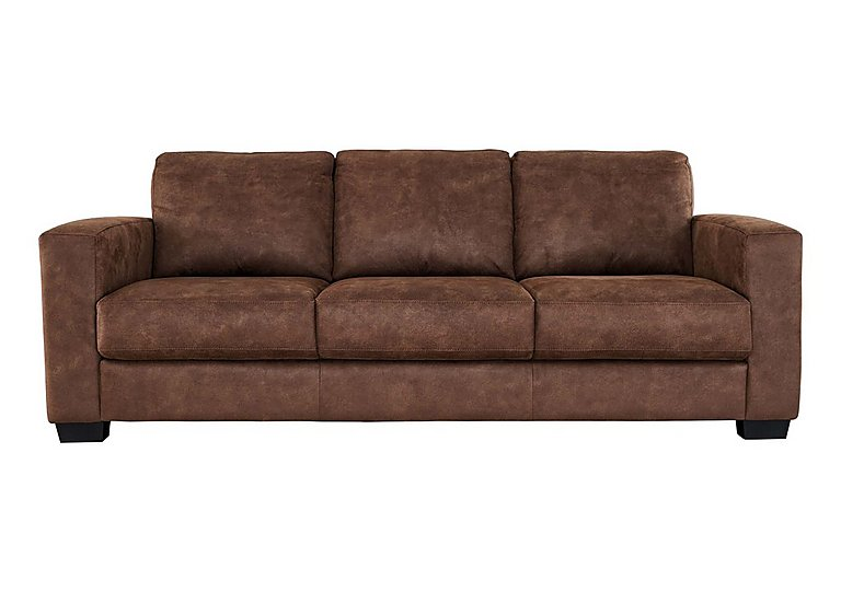 Dante 3 Seater Fabric Sofa - Only One Left!