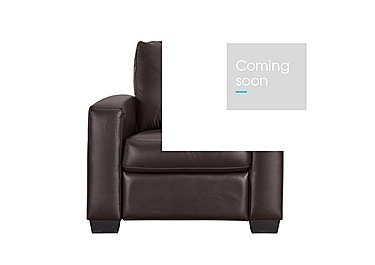 Dante Leather Recliner Armchair in Jc-157e  Warm Brown on FV