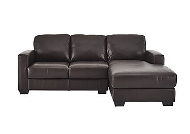 Dante Leather Corner Chaise