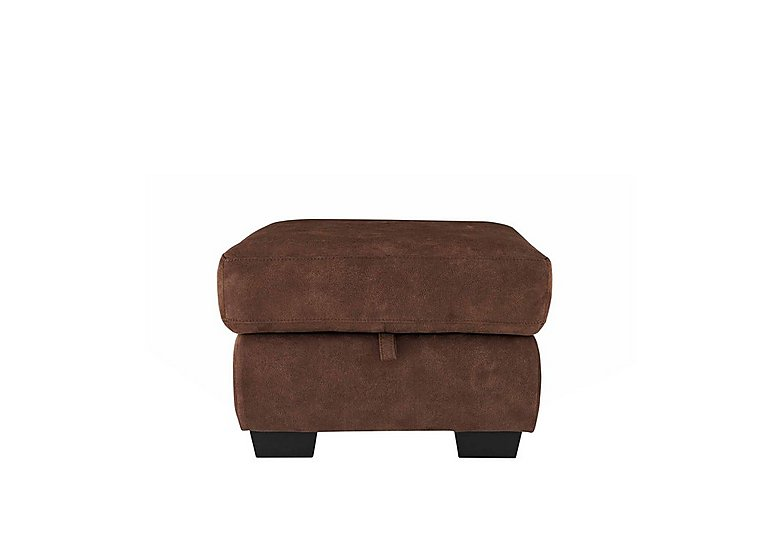Dante Fabric Storage Footstool in Bfa-Blj-R05 Hazelnut on FV