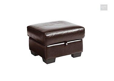 Dante Leather Storage Footstool  in {$variationvalue}  on FV