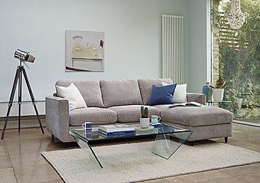 Esprit 3 Seater Fabric Sofa in  on FV