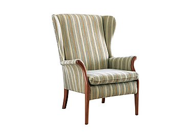 Froxfield wing chair in 050042-0061 Camden Blue on Furniture Village