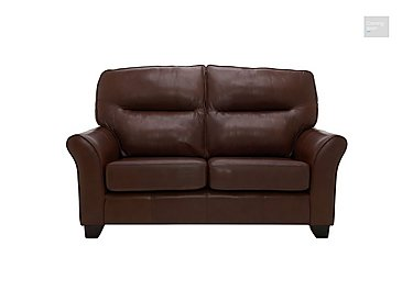 Gemma 2 Seater Leather Sofa  in {$variationvalue}  on FV