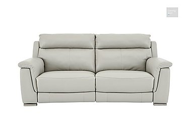 Glider 2 Seater Leather Recliner Sofa  in {$variationvalue}  on FV