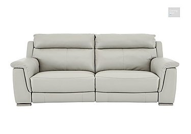 Glider 3 Seater Leather Recliner Sofa  in {$variationvalue}  on FV