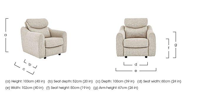 Golding Fabric Armchair