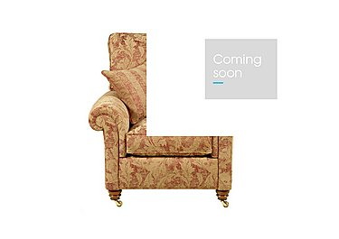 Hamilton Fabric Armchair in Rhapsody - Russet Sand on FV