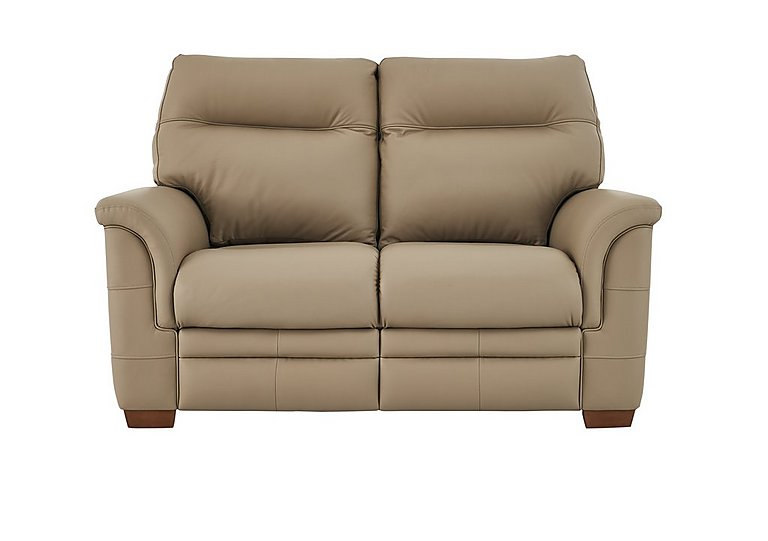Hudson 2 Seater Leather Recliner Sofa