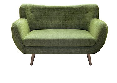 Jasper 2 Seater Fabric Sofa in Lemans 1070 Lime on FV