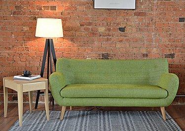 Jasper 3 Seater Fabric Sofa in  on FV