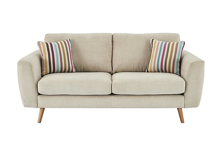 Jenson 2 Seater Fabric Sofa in Grd-34 Bisque Graceland on Furniture Village