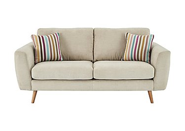 Jenson 2 Seater Fabric Sofa in Grd-34 Bisque Graceland on FV