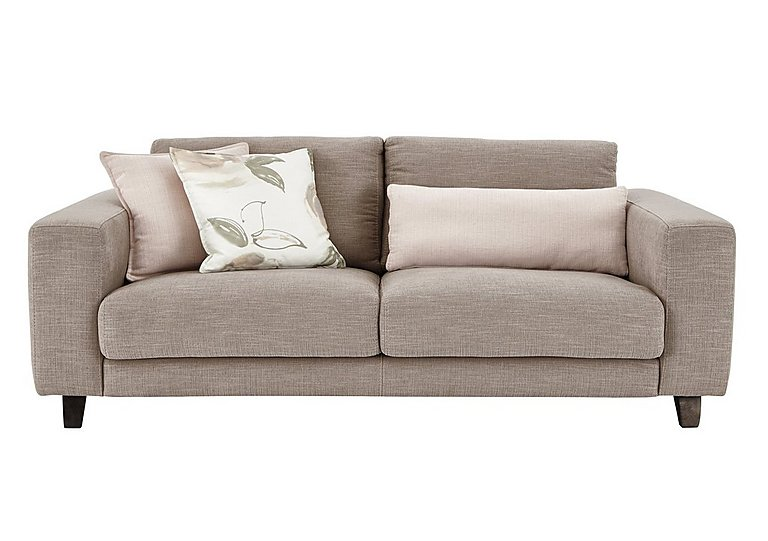 Kick 3 Seater Fabric Sofa