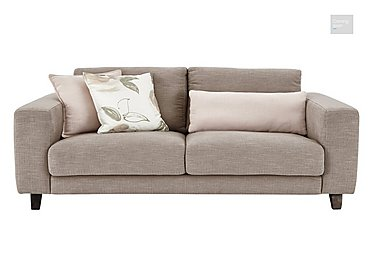 Kick 3 Seater Fabric Sofa  in {$variationvalue}  on FV