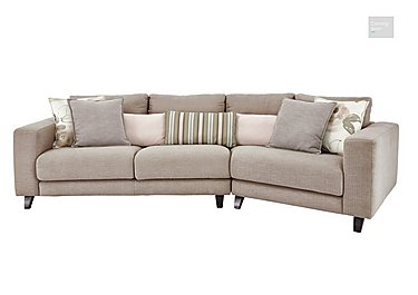 Kick K Angled Fabric Sofa  in {$variationvalue}  on FV