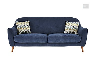 Kurve 3 Seater Fabric Sofa  in {$variationvalue}  on FV