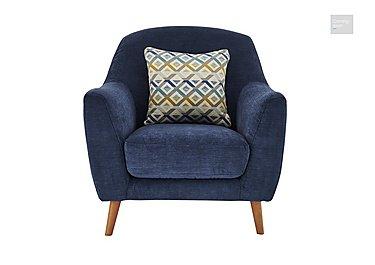 Kurve Fabric Armchair  in {$variationvalue}  on FV