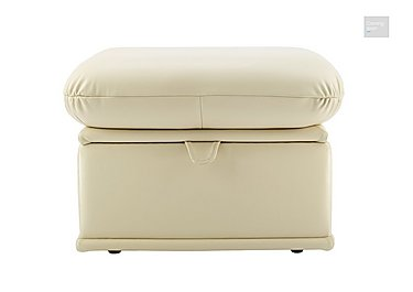 Malvern Leather Storage Footstool  in {$variationvalue}  on FV