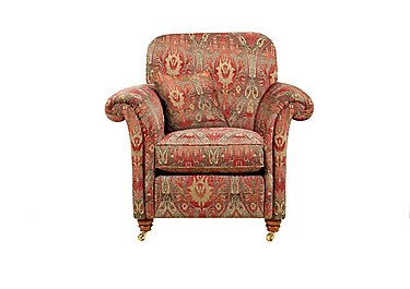 Mayfair Fabric Armchair in Althorp Russet/Stone on Furniture Village