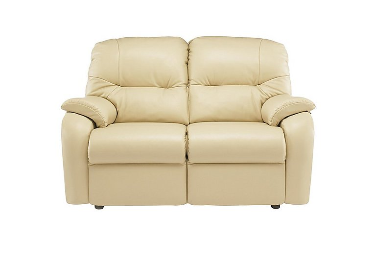 Mistral 2 Seater Leather Recliner Sofa  in {$variationvalue}  on FV