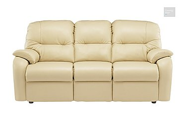 Mistral 3 Seater Leather Recliner Sofa  in {$variationvalue}  on FV