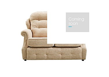 Oakland 2 Seater Small Fabric Sofa in A071 Boucle Oyster on FV