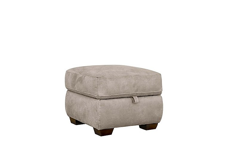 Paloma Fabric Storage Footstool in Bfa-Blj-R946 Silver Grey on FV