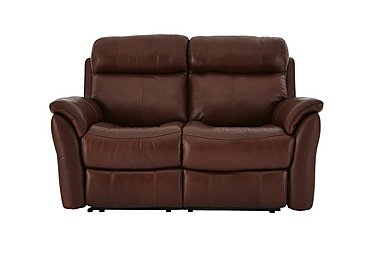 Relax Station Revive 2 Seater Leather Recliner Sofa