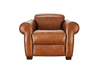 Salerno Leather Recliner Armchair